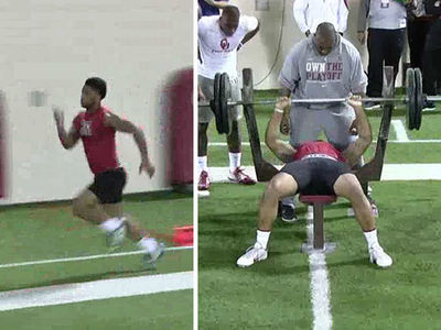 Joe Mixon Crushes Pro Day ... Will NFL Teams Bite?? (VIDEO)