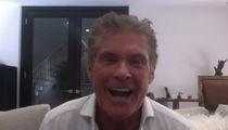 David Hasselhoff Gives German Props to Dirk Nowitzki ... Let's Duet Together! (VIDEO)