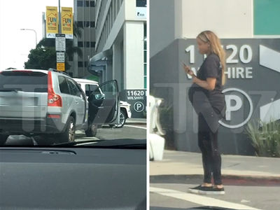 Pregnant Ciara In Car Accident In L.A. (UPDATE) (VIDEO + PHOTO GALLERY)