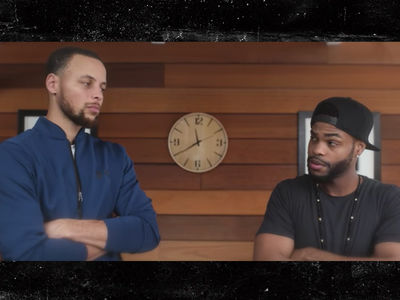 Steph Curry Busts Out Dance Moves, Toilet Paper ... Best Roommate Ever (VIDEO)