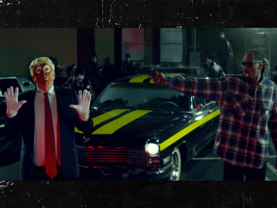 Snoop Dogg's Trump Gun Vid On Secret Service's Radar