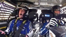"Mark Zuckerberg Rides NASCAR Shotgun with Dale Earnhardt Jr. ... 'HOLY S**T!!!"" (VIDEO)"