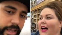 Chrissy Metz Surprises Die-Hard 'This Is Us' Fans (VIDEO)