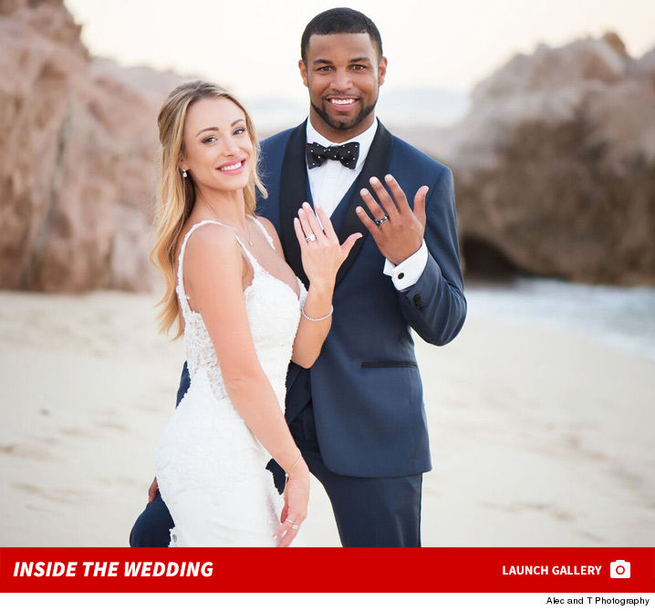f9840c82ba5 Golden Tate TOOK OVER Cabo San Lucas for his wedding this weekend --  renting out an entire hotel on the beach ... and swapping crazy diamond  rings with his ...