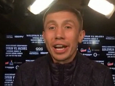 Gennady Golovkin on Floyd vs. Conor ... It's Not a 'True Fight' (VIDEO)