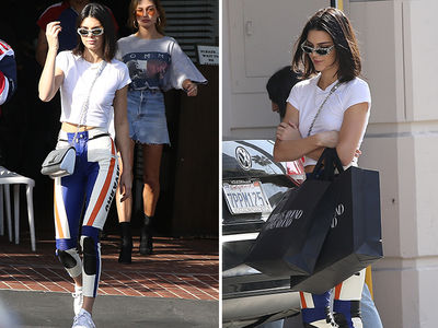 Kendall Jenner, Shopping in Beverly Hills is Robbery!!! (PHOTO)