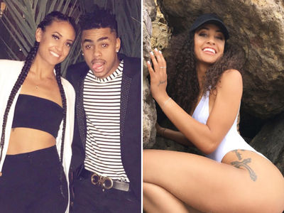 D'Angelo Russell's New Lady Friend ... Is Insanely Hot (PHOTO GALLERY)