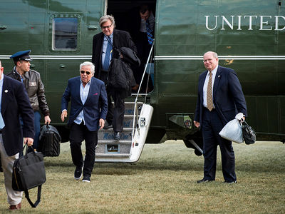 Robert Kraft Kicked It with President Trump ... In Air Force 1s (PHOTO)