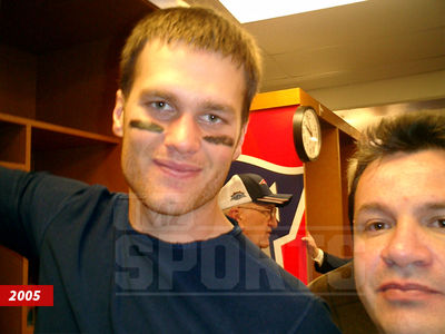 Tom Brady Came FACE-TO-FACE WITH SUSPECT ... In Super Bowl Selfies (PHOTOS)