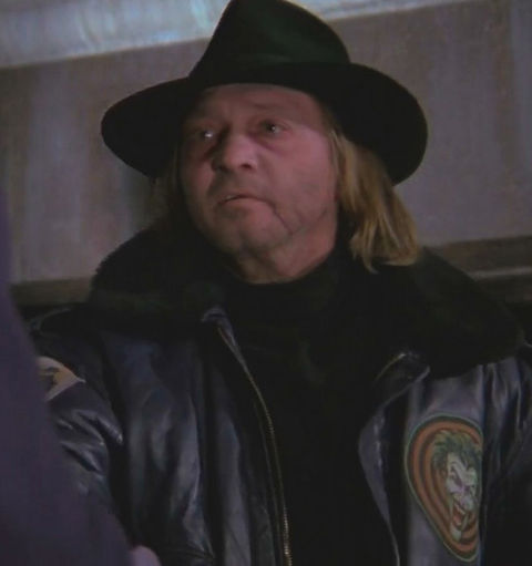 Tracey Walter is best known for playing Joker's go-to guy Bob the Goon in Tim Burton's 1989 film 'Batman.'