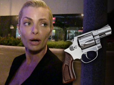Jaime Pressly Gun Stolen in Break-In