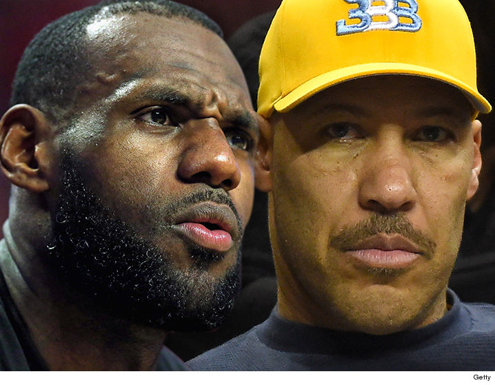 dcd79210b68b1 LeBron James is firing back at LaVar Ball -- warning the outspoken  basketball dad to STOP talking about the James kids ... or else.