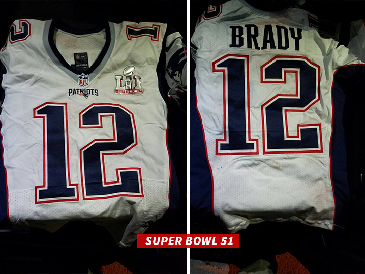 735659b9b Tom Brady s SB Jerseys -- PROOF OF LIFE!!! (PHOTOS)