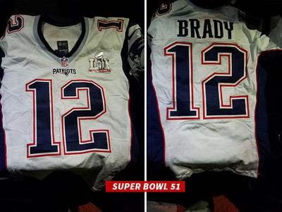 Tom Brady's SB Jerseys -- PROOF OF LIFE!!! (PHOTOS)