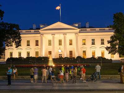 New White House Fence Jumper Dangled from Her Shoelaces