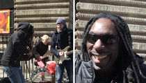 Boyd Tinsley of Dave Matthews Band, Back to Busking on the Streets (VIDEO)