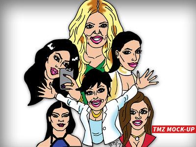 Kris Jenner Pitching Animated Series on Kardashian Family