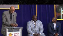 Kareem Abdul-Jabbar Cracked Kobe Joke at Shaq Statue Unveiling (PHOTOS + VIDEO)