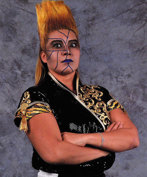 Keiko Nakano is best known for competing in the World Wrestling Federation back in the '90s as her nunchuck-wielding Pro Wrestling alter ego, Bull Nakano.