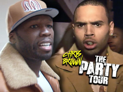 50 Cent Never Signed Chris Brown Tour Deal, Couldn't Agree on Money