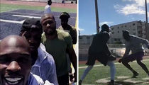 Chad Johnson Covers Mohamed Sanu ... GETS DESTROYED (VIDEO)
