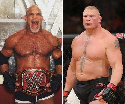 Goldberg (50) vs. Brock Lesnar (39) -- WrestleMania 33 Edition!