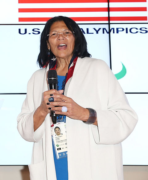Anita DeFrantz,  Olympian and Senior Advisor for Legacy, LA 2024 and IOC Executive Board