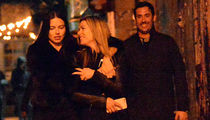 Adriana Lima and Matt Harvey Celebrating with a Hot Friend (PHOTOS)