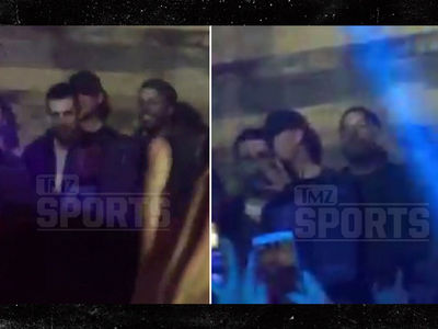 Aaron Rodgers Loves Him Some Tupac at the Final Four  (VIDEO)