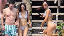 Fitness Model Jen Selter Hands-On with Big Time Rush Singer James Maslow (PHOTO + GALLERY)