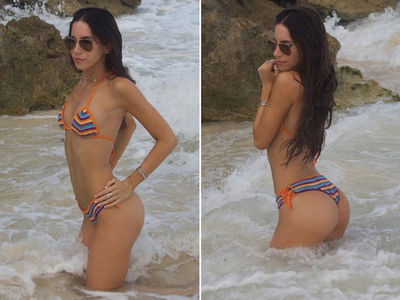 Jen Selter Takes Famous Ass for a Dip In Mexico (PHOTO GALLERY)