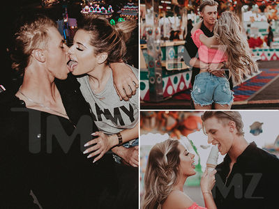 Brielle Biermann & Michael Kopech Round First Base in Major League PDA (PHOTO GALLERY)