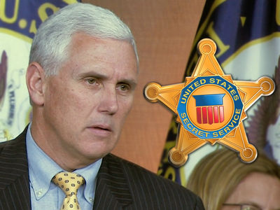 Mike Pence's Secret Service Agent Charged with Soliciting Prostitute