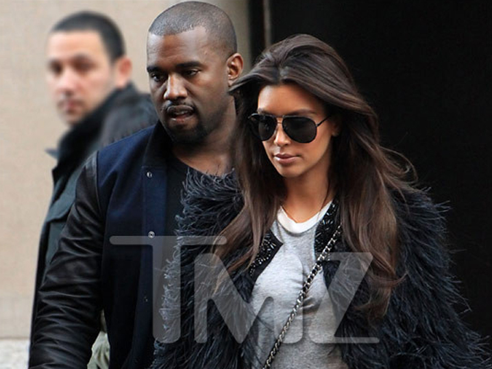 kim kardashian and kanye west before they were dating