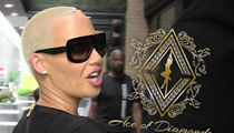 Amber Rose's Trademark Application for Ace of Diamonds Rejected