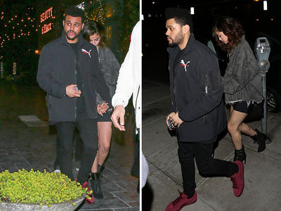 Selena Gomez & The Weeknd Start The Weekend Early with Romantic Dinner Date (PHOTOS)