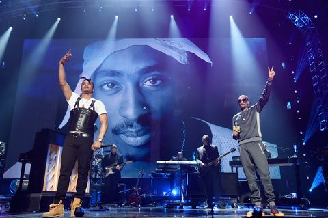 T.I. and Snoop Dogg perform onstage during the 32nd Annual Rock & Roll Hall Of Fame Induction Ceremony at Barclays Center .