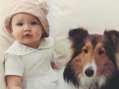 Guess Who This Puppy Lovin' Princess Turned Into!