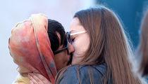 Anthony Kiedis Kisses Mystery Brunette in Italy (PHOTOS)