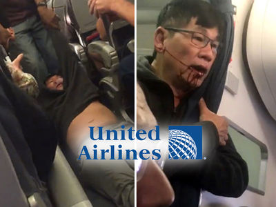 United Passenger Was Resisting Standard Procedure for Overbooked Flight According to Airline