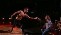 Nick Viall & Vanessa Grimaldi's Steamy Makeout Interrupts 'DWTS' Rehearsal (VIDEO)