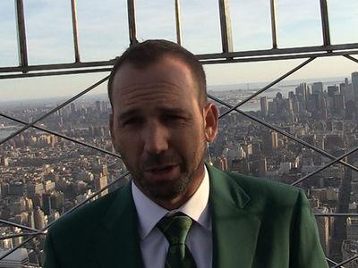 Sergio Garcia Says Dustin Johnson's Injury Didn't Take Away from Masters Win (VIDEO)
