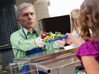 Neil Gorsuch Has Cafeteria Duty as Part of His SCOTUS 'Hazing'