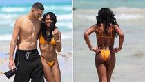 Elisa Johnson Bikini Photos, Magic's Daughter Hits the Beach in Miami (PHOTO GALLERY)