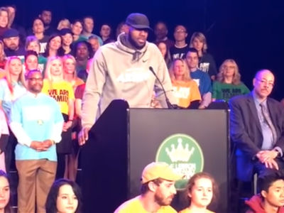 LeBron James To Open Public School For At-Risk Kids In Akron