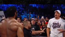 Rob Gronkowski Throws Beer On WWE Wrestler On 'SmackDown' (VIDEO)