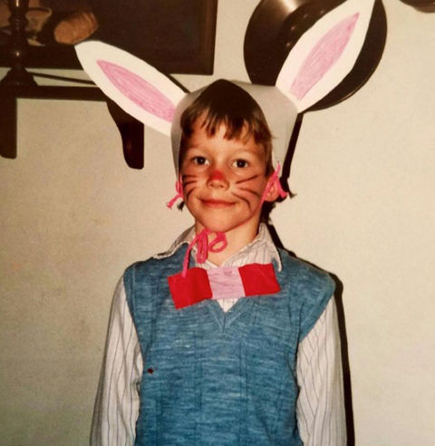 Guess who the cute Easter kid turned into!