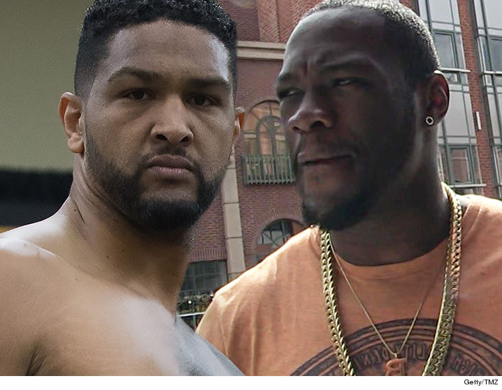 Boxer Dominic Breazeale Sues Deontay Wilder Over Post Fight Hotel