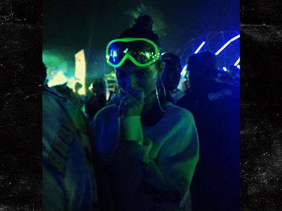 Kendall Jenner Doesn't Smoke at a Coachella Weed After-Party