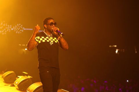 Gucci Mane performing